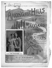 Among the hills of Maryland [sheet music]