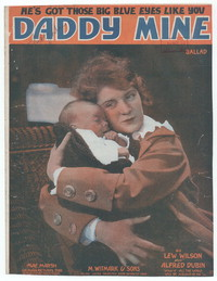 Daddy Mine [sheet music]