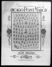 Chicago post march [sheet music]