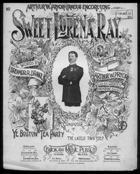 Sweet Lorena Ray [sheet music]