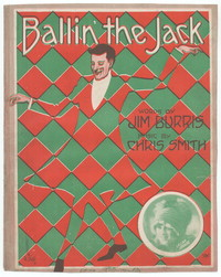 Ballin' the Jack [sheet music]