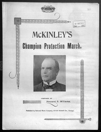 McKinley's champion protection march [sheet music]