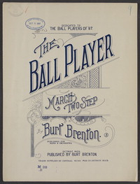The ball player march: Two step. [sheet music]