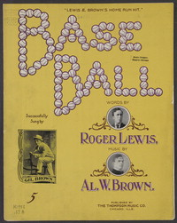 Base-ball [sheet music]