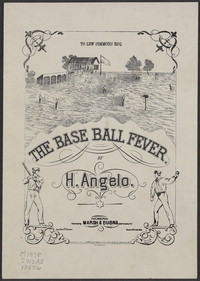The base ball fever [sheet music]