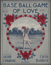 Base ball game of love [sheet music]