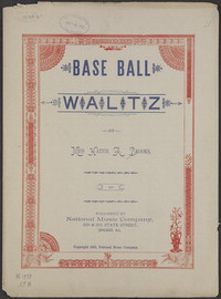 Base ball waltz [sheet music]