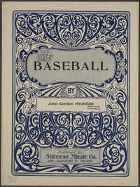 Baseball [sheet music]
