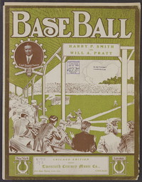 Base ball brains [sheet music]