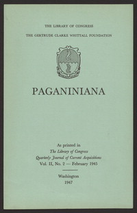 Paganiniana [print]