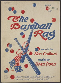 The baseball rag [sheet music]
