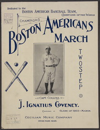Boston Americans march [sheet music]