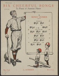 Casey at the bat [sheet music]