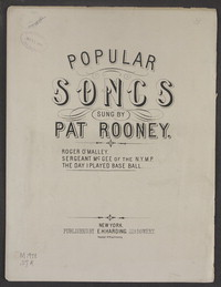 The day I played baseball [sheet music]