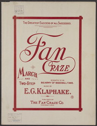 Fan craze [sheet music]