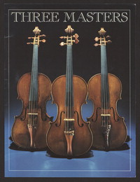 Three masters: the stringed instrument collection in the Library of Congress. [print]