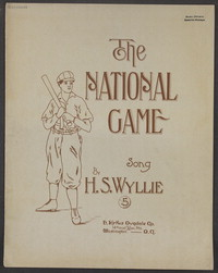 The national game [sheet music]
