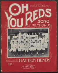 Oh, you Reds [sheet music]