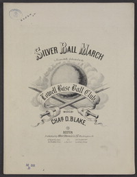 Silver ball march [sheet music]
