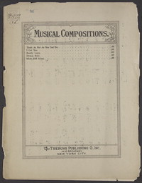 Slide, Bill slide [sheet music]