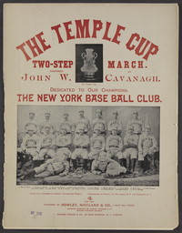 The temple cup [sheet music]