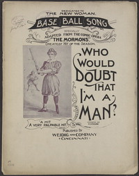 Who would doubt that I'm a man? [sheet music]