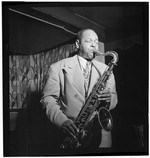 [Portrait of Coleman Hawkins, Spotlite (Club), New York, N.Y., ca. Sept. 1946] [graphic]