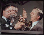 [Portrait of Stan Kenton and Buddy Childers, Richmond, Va., 1947 or 1948] [graphic]