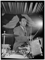 [Portrait of Gene Krupa, 400 Restaurant, New York, N.Y., ca. June 1946] [graphic]
