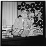 [Portrait of Mezz Mezzrow in his office, New York, N.Y., ca. Nov. 1946] [graphic]