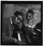 [Portrait of Thelonious Monk and Howard McGhee, Minton's Playhouse, New York, N.Y., ca. Sept. 1947] [graphic]