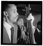 [Portrait of Charlie Parker and Tommy Potter, Three Deuces, New York, N.Y., ca. Aug. 1947]