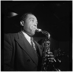 [Portrait of Charlie Parker, Three Deuces, New York, N.Y., ca. Aug. 1947] [graphic]