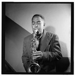 [Portrait of Charlie Parker, Carnegie Hall, New York, N.Y., ca. 1947] [graphic]