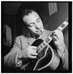 [Portrait of Django Reinhardt, Aquarium, New York, N.Y., ca. Nov. 1946]
