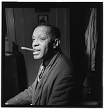 [Portrait of Willie Smith in his apartment, Manhattan, New York, N.Y., ca. Jan. 1947] [graphic]