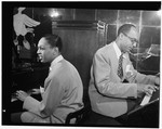 [Portrait of Billy Taylor and Bob Wyatt, New York, N.Y., between 1946 and 1948] [graphic]