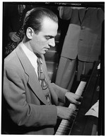 [Portrait of Lennie Tristano, New York, N.Y., ca. Aug. 1947] [graphic]