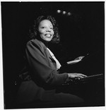 [Portrait of Mary Lou Williams, CBS studio, New York, N.Y., ca. Apr. 1947] [graphic]