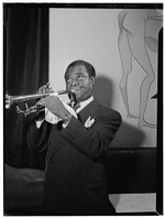 [Portrait of Louis Armstrong, between 1938 and 1948] [graphic]