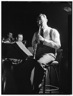 [Portrait of Benny Goodman, 400 Restaurant, New York, N.Y., ca. July 1946] [graphic]