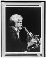 [Portrait of Gerry Mulligan, ca. 1980s] [graphic]