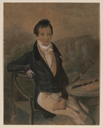 [Portrait of Jean Louis Tulou, flutist, 1786-1865] [artwork]