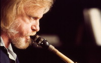 [Gerry Mulligan's portrait for Harper Bazaar magazine] [photograph]
