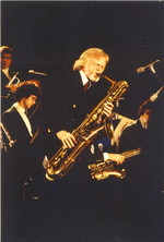 [Gerry Mulligan with Concert Jazz Band] [photograph]
