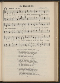 Eternal Father, strong to save [hymnal]