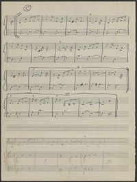 Guadacanal March [from Victory at Sea] [manuscript score]