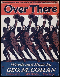 Over there [sheet music]