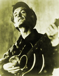Woody Guthrie and the Archive of American Folk Song: Correspondence, 1940-1950 [web presentation]