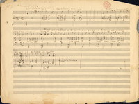 [Sketches for Eight songs, op. 47] [manuscript sketch]